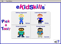 Screenshot of eKidSkills