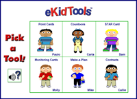 Screenshot of eKidTools